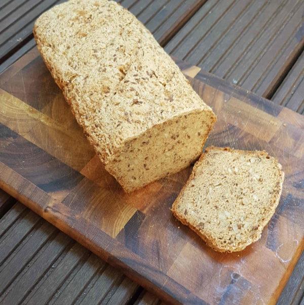 Glutenfreies Brot mit Trester