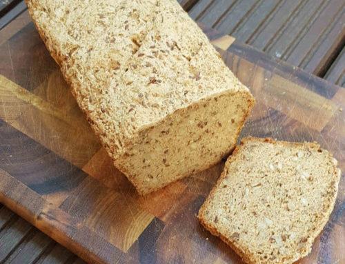Glutenfreies Brot ohne Hefe und Mais