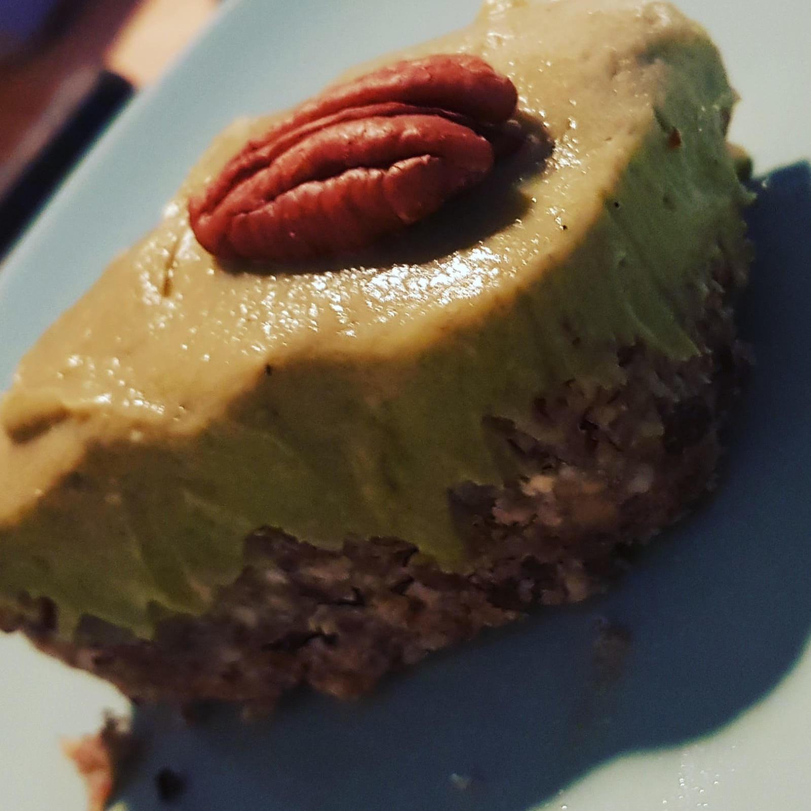 Avocadotorte raw no bake