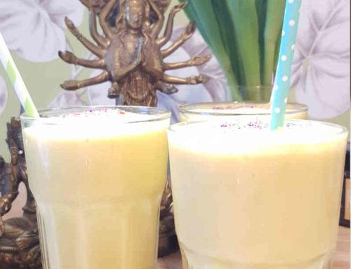 Mango-Lassi ohne Kuh