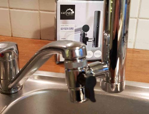 Unser erster Wasserfilter